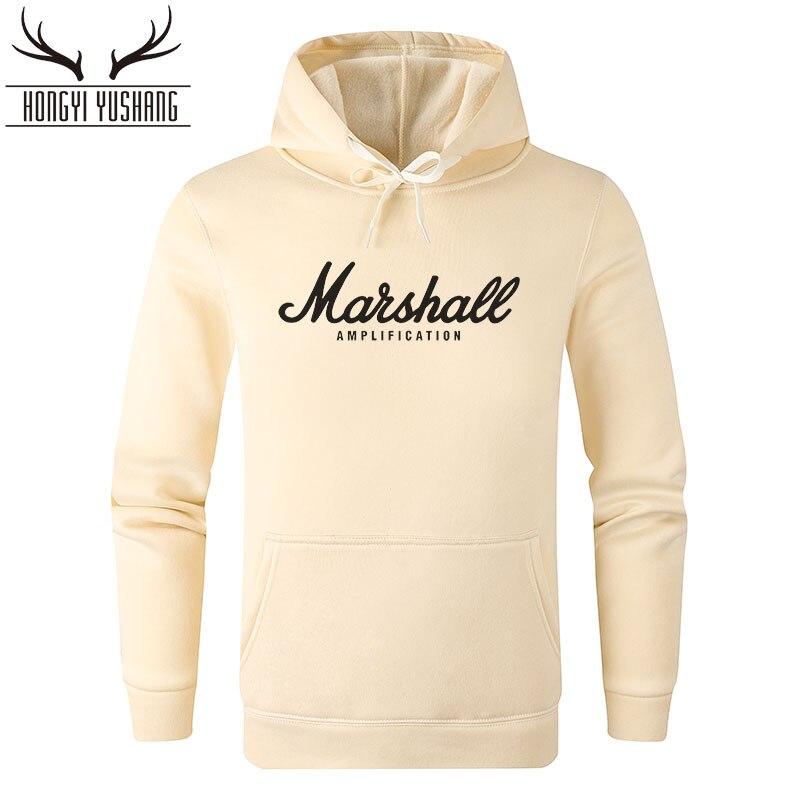 Marshall Hoodies dos homens Camisolas Mulheres Popular Som Banda Streetwear Hip Hop Homens Roupa Com Capuz sudaderas hombre pará W02