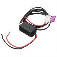 Car/Truck LED Daytime Running Lights Auto Controller Relay Harness Drl On/Off 12V DC 5A Waterproof DRL Control Black New 2017 new dimming style relay waterproof 12v led car light drl daytime running lights with fog lamp hole for mitsubishi asx 2013 2014