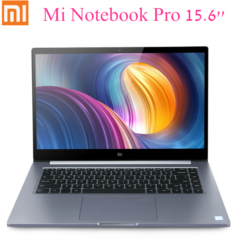 Xiaomi Mi Notebook Pro 15.6'' Laptop Win10 Intel Core I7-8550U NVIDIA GeForce MX150 16G 256G SSD Fingerprint Dual WiFi Laptop
