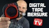 Measure King 3 In 1 Digital Tape Measure String Mode Sonic Mode Roller Mode Universal