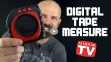 Измерение King 3-in-1 цифровой рулетка режим струны звуковой режим и роликовый режим универсальный измерительный инструмент мебельные аксессуары