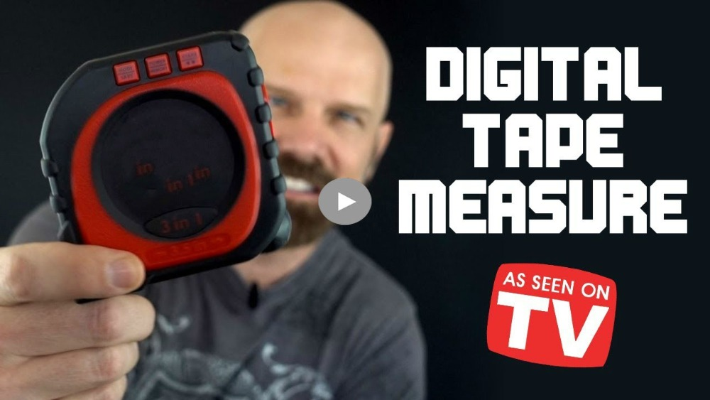 Measure King 3-in-1 Digital Tape Measure String Mo...
