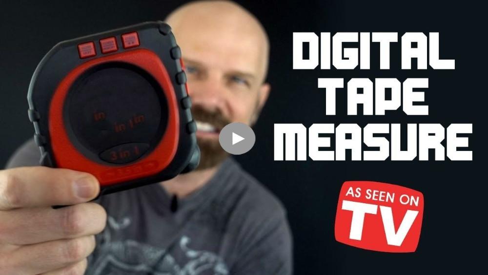 Measure King 3-in-1 Digital Tape Measure String Mode Sonic Mode & Roller Mode Universal Measuring Tool Furniture Accessories