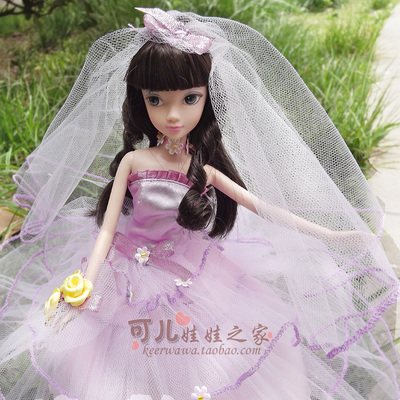 ФОТО 27.5cm  Original  kurhn doll Wedding Series   Brinquedos Meninas Bonecas Children Christmas Gift Kid Hobby  9021