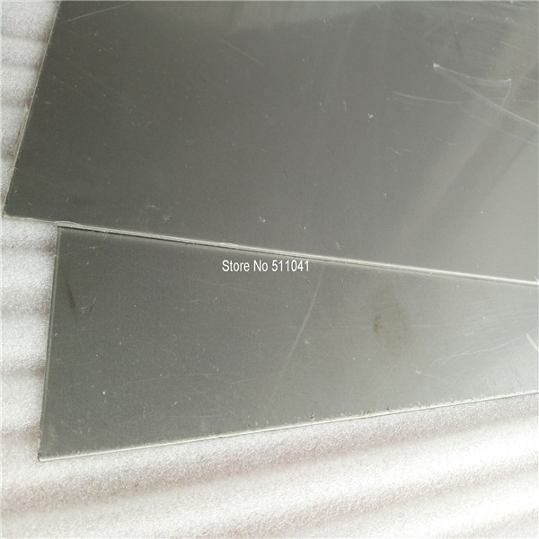 Grade 5 titanium sheet  for  body armour  Gr5 ti-6al-4v titanium plate 10pcs 2mm*250mm*300mm  wholesale price,free shipping