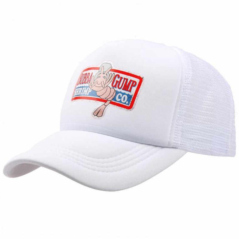 a78b3382 ... 2018 New BUBBA GUMP Cap SHRIMP CO Truck Baseball Cap Men Women Summer  Snapback Cap Hat ...