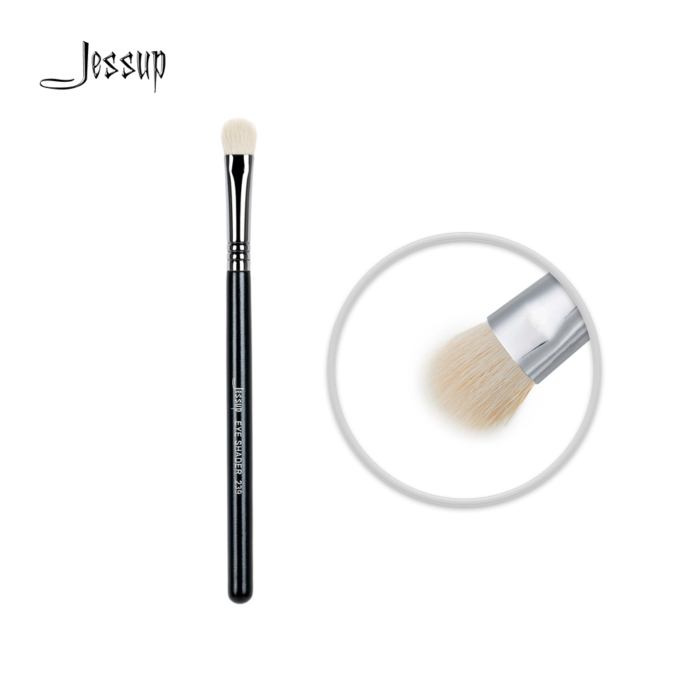 Jessup High Quality Materials Professional Face brush Makeup brushes brush Make up Beauty tools Cosmetic Eye Shader 239 msq pro mask makeup brush home diy facial face eye mask use soft mask brush treatment cosmetic make up brush beauty makeup tool