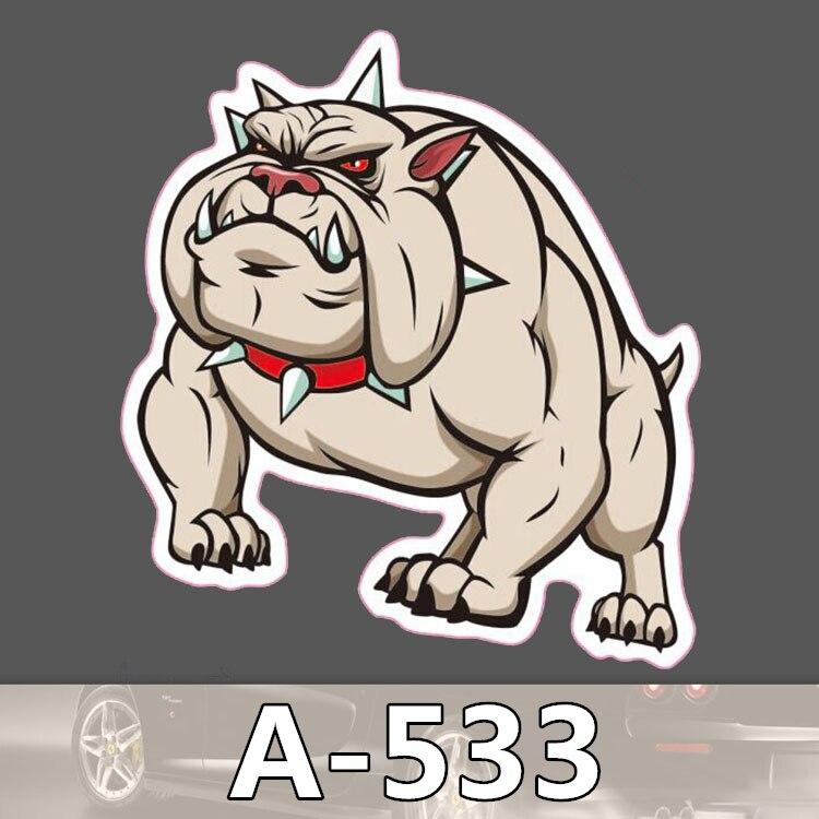 A 533 A Pug Dog Waterproof Cool DIY Stickers For Laptop Luggage Fridge Skateboard Car Graffiti