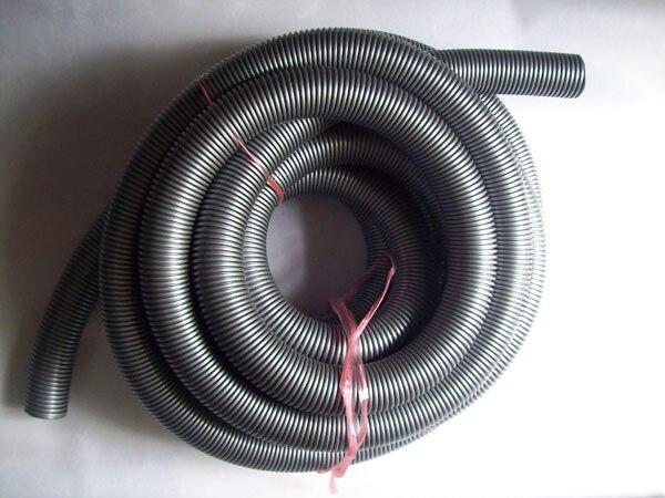 7 5m expandable hose 5m Industrial vacuum cleaner plumbing hose 48 mm , inradius 40 mm