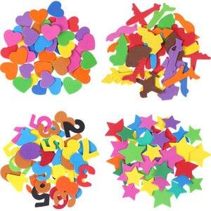 DIY EVA Foam Stickers Puzzle L