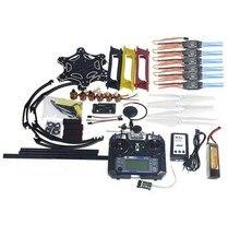 Conjunto completo Kit de RC MultiCopter Drone 6 Aviones F550 Hexa-Rotor Aire Control de Vuelo GPS APM2.8 FS-i6 F05114-AW