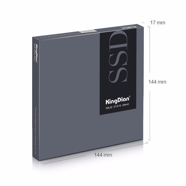 SSD SATA3 2.5 inch 60GB 120G 240GB 480G Hard Drive Disk HD HDD factory directly KingDian Brand