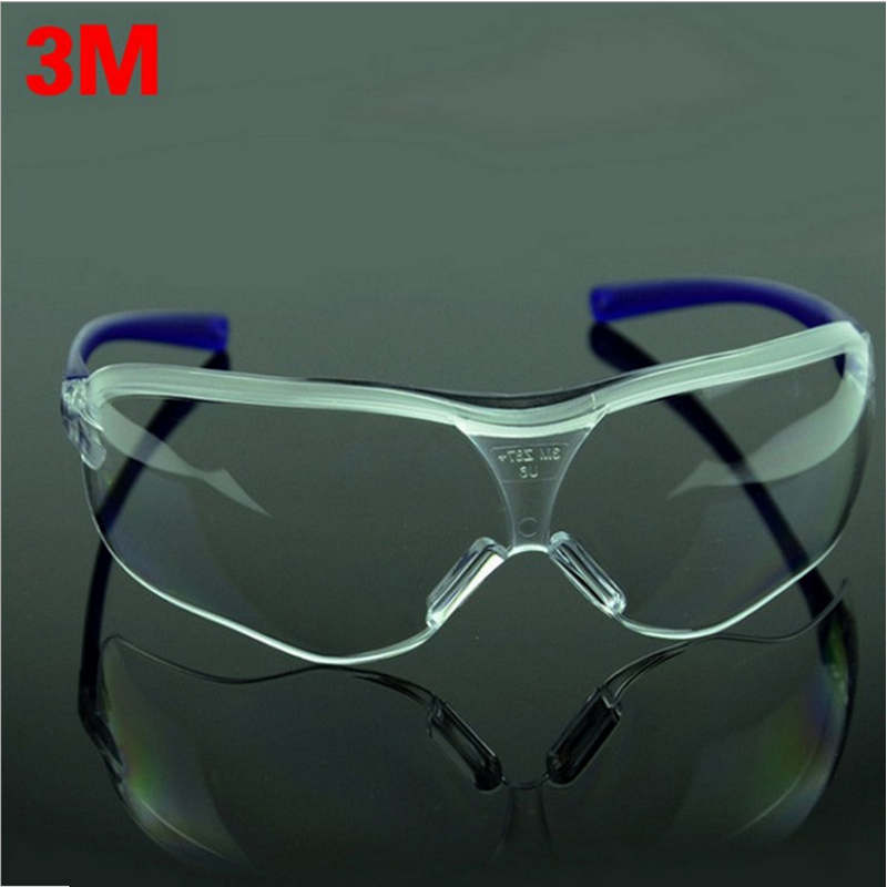 3M 10434 Safety Irradiation Protection Working Goggles Polycarbonate Anti-wind Fog Resistant Transparent Construction Glasses