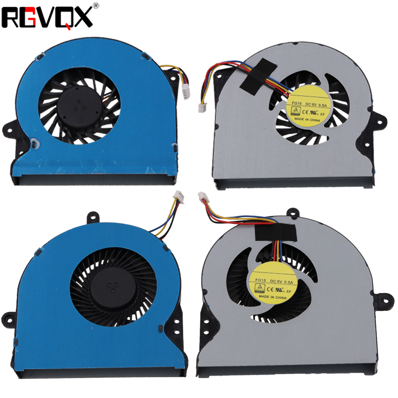 New Original Laptop Cooling Fan For ASUS G751 G751J G751M G751JT G751JY G751JL PN: DFS561405PL0T DFS501105PR0T Cooler Fans