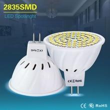 Led זרקור MR16 LED מנורת AC 220V 4W 6W 8W Led הנורה אורות AC / DC 12V 24V GU5.3 mr 16 SMD 2835 לבן/חם לבן בית תאורה