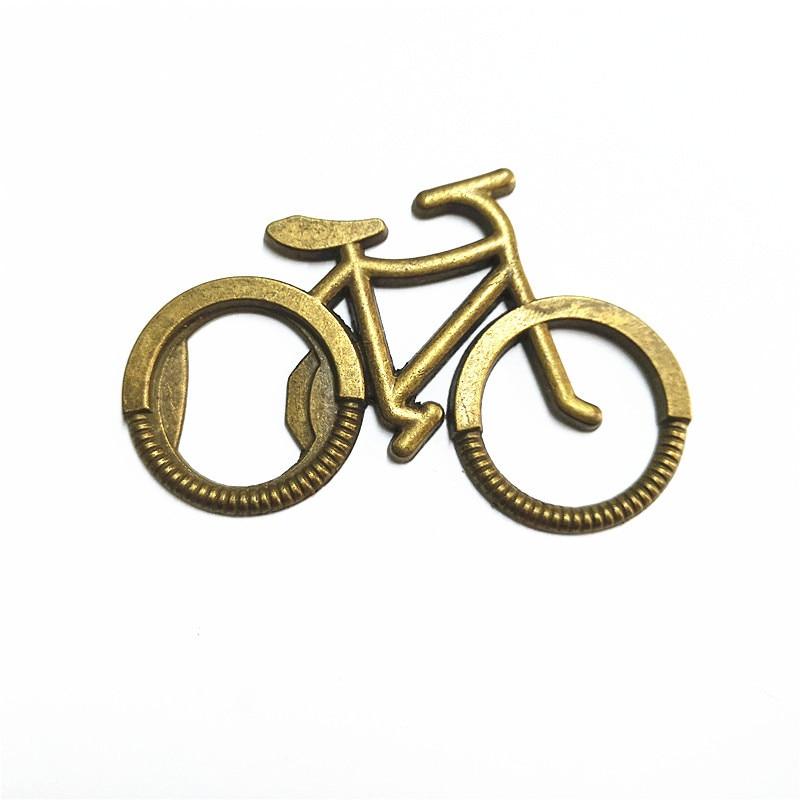 500pcs Metal Beer Bottle Opener Cute Bike Bicycle Keychain Key Rings For Lover Biker Bottle Openers Creative Gift For Cycling