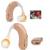 Recarregável aparelho Auditivo Amplificador de Som Voz Tom Ajustável Mini Dispositivo para Idosos Surdo Ouvir Clara apparecchio acustico