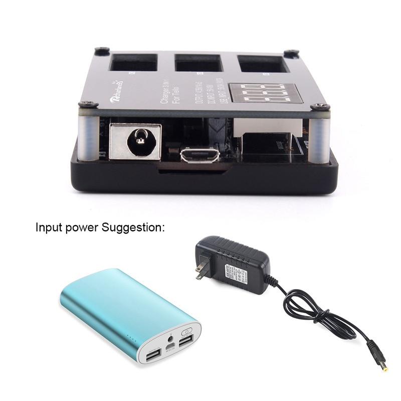 3 шт. DJI Tello Дрон летная батарея + быстро зарядное устройство концентратор tello для DJI Tello lipo батарея аксессуары - 5