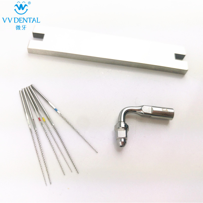 Dental Endodontic Stainless steel U-FILE scaler endo tip root canal cleaning files 15# 20# 25# 30# 35# 40# dental material endo apex locator root canal finder testing cord files fit j2