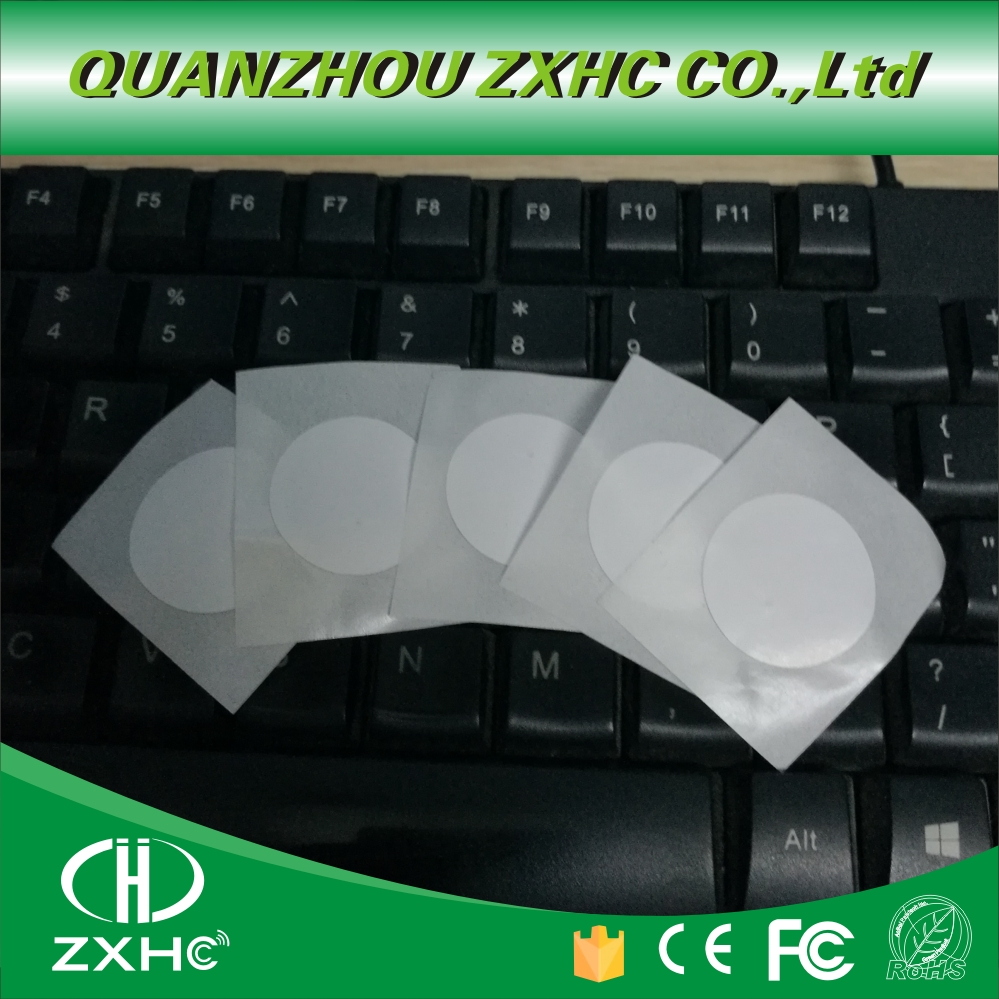 (10PCS) New Arrived 25mm Diameters Coated Paper NFC NTAG215 Tag Sticker Label Forum Type 2