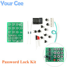 Multi-purpose Coded Lock Suite DIY Simple Electronic Password Lock Kit Funny