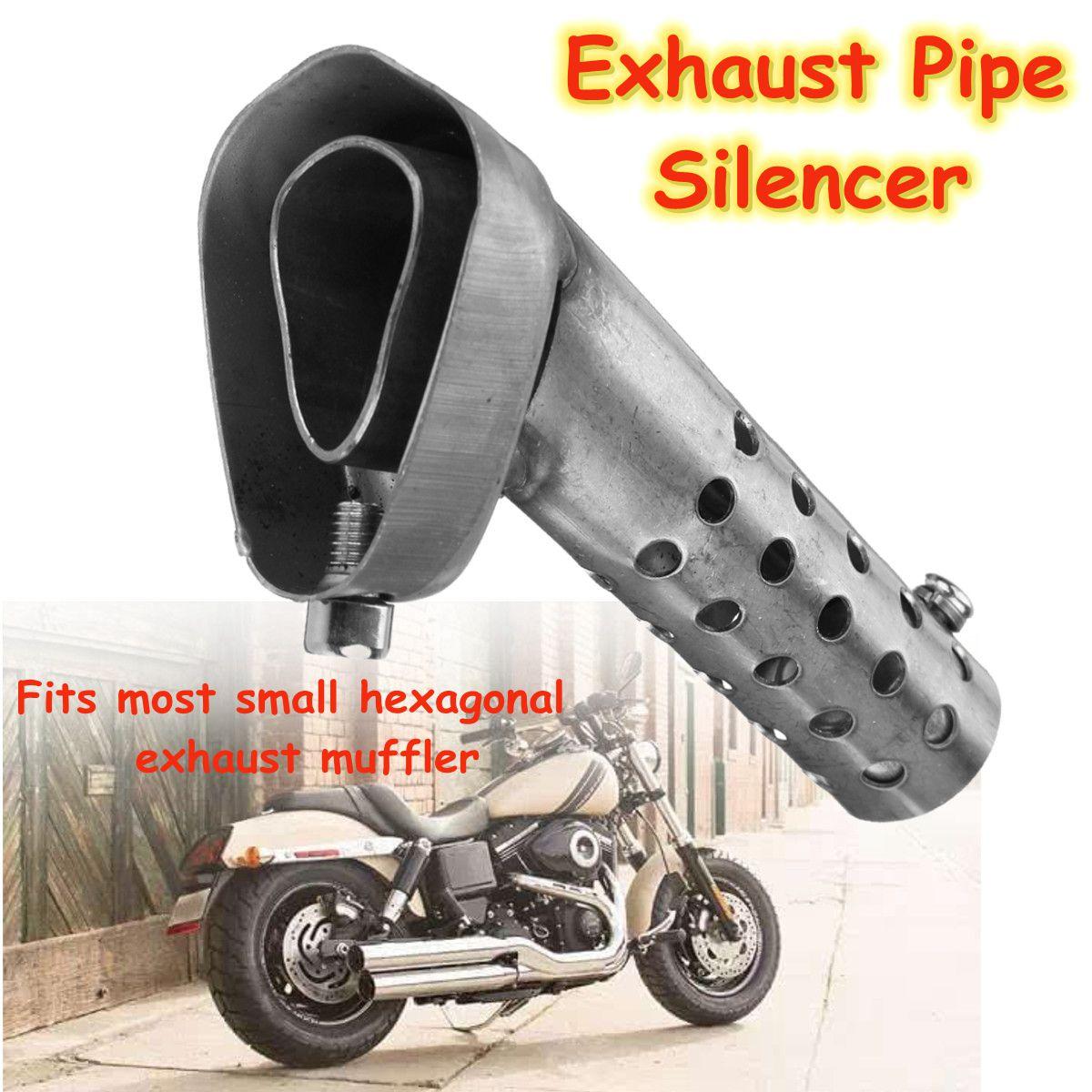 Universalusis motociklų išmetimo sistemos gali nuobodulio slopintuvo duslintuvo vamzdis
