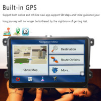 Android 5 1 Car Dvd Radio Video Gps Player 2 Din For Vw Polo Golf Tiguan