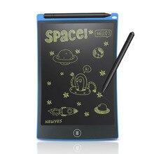 """NEWYES נייד 8.5 """"אינץ LCD כתיבת לוח דיגיטלי ציור לוח כתב יד רפידות אלקטרוני לוח לוח דק לוח"""