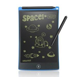 """Image 1 - NEWYES Portable 8.5 """"pouce LCD tablette décriture numérique dessin tablette manuscrite tampons électronique tablette conseil ultra mince"""