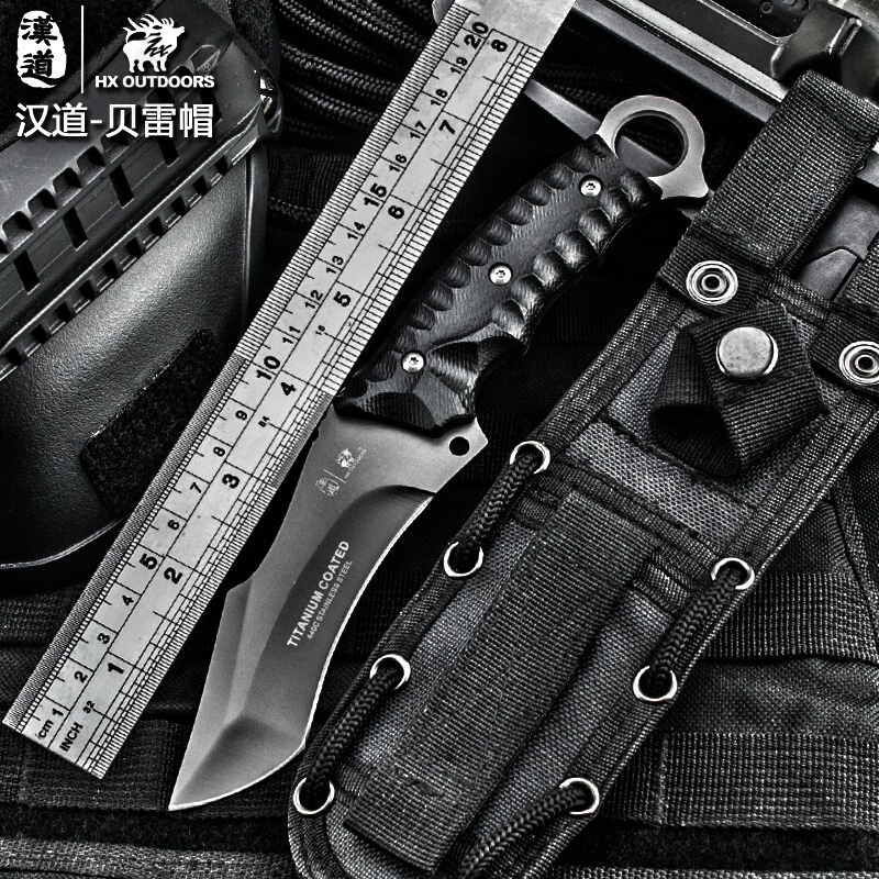 HX outdoor font b tactical b font font b knife b font multi tool surface plated