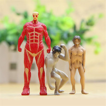 Hot sale,Trendy Japanese Anime High Quality Attack On Titan Figures Toys dolls,kids toys gift for birthday,xs153