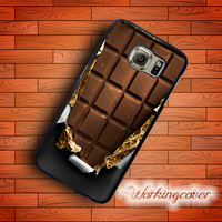 Fundas Opened Chocolate Bar Luxury Case For Samsung Galaxy Note 7 5 4 3 Case Cover