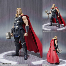 NEW hot 16cm avengers Super hero thor movable collectors action figure toys Christmas gift doll with box