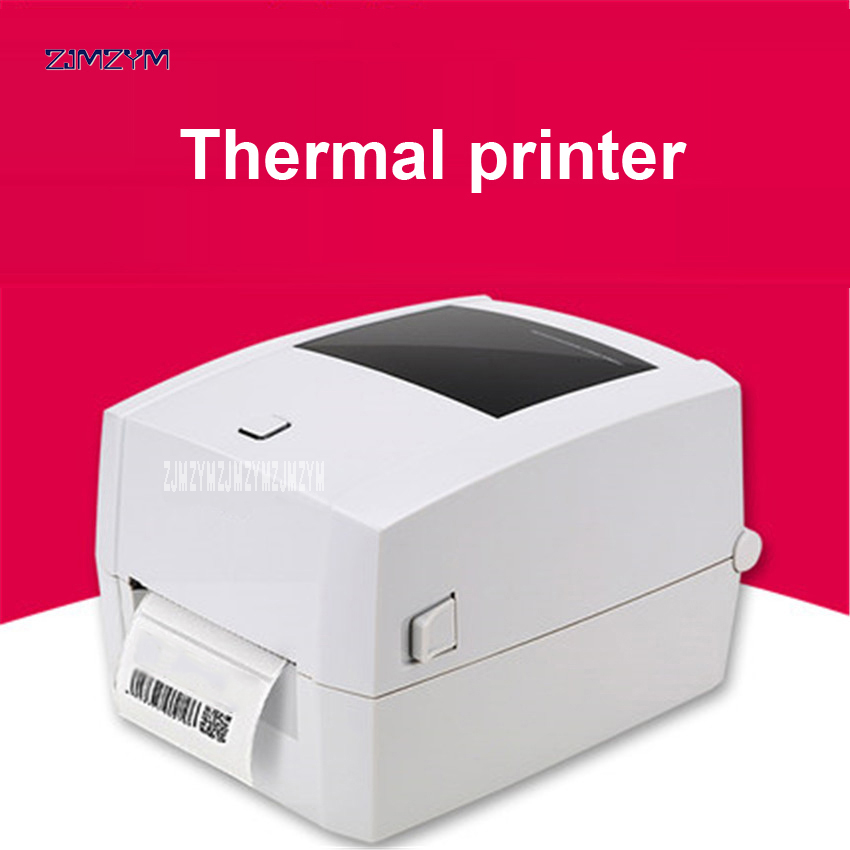 Printers DL-888D quality thermal printer brand label design printer USB Interface Self-adhesive printer 102mm / s Print speed image