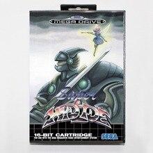 Super hydlide 16 bit SEGA MD Game Card With Retail Box For Sega Mega Drive For Genesis
