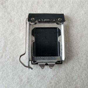 Image 3 - 100 개/몫 원래 LGA115X CPU 소켓 커버 홀더 철 쉘 CPU Scket 보호
