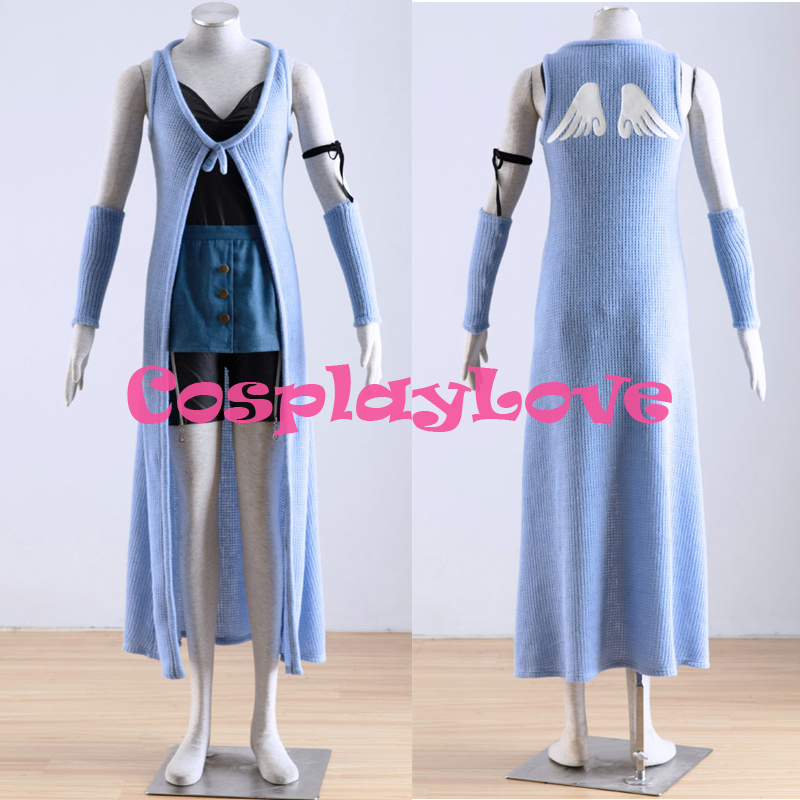 High Quality Stock Japanese Anime Final Fantasy VIII 8 Rinoa Cosplay Costumes CosplayLove Christmas Halloween 8 Size