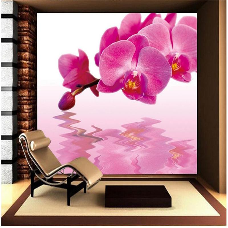 Wallpaper orchidee steine  Orchidee Blume Tapete-Kaufen billigOrchidee Blume Tapete Partien ...