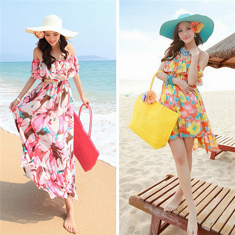 2017 Hot New Design Straw Popular Summer Style Weave Woven Shoulder Tote Shopping Beach Bag Purse Handbag Gift FreeShipping N770 4
