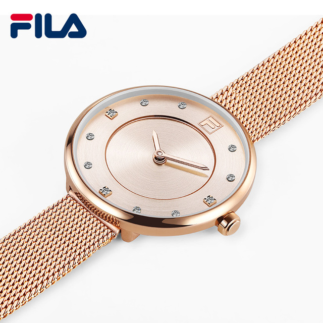 Fila watches women's watch quartz watch female ultra-thin rhinestone fashion tre