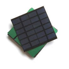 BUHESHUIB 1.2W 5V Solar Cell Module Polycrystalline DIY Solar Panel Charger For 3.7V Battery Study 100*100MM 50pcs Free Shipping