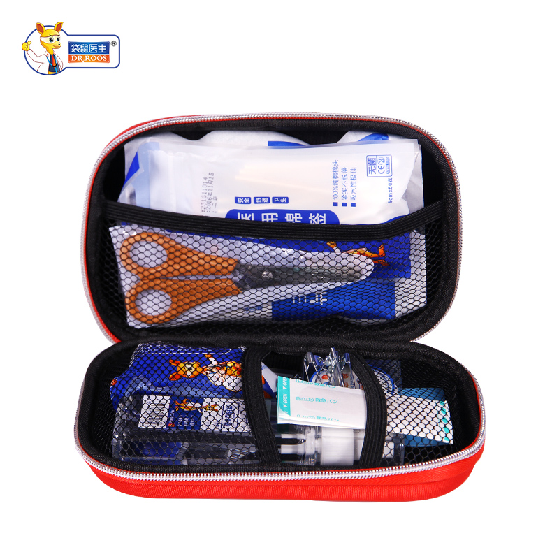 Free shipping Safe Camping Hiking Car First Aid Kit Medical Emergency Kit Treatment Pack Outdoor Wilderness Survival First Aid b eva first aid kit 18 sets of outdoor survival home rescue disaster emergency kits camping hiking medical treatment pack