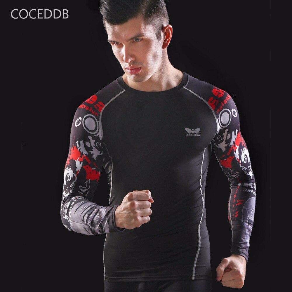 Camisas de compresión para hombre Piel ajustada térmica bajo mangas - Ropa de hombre - foto 5