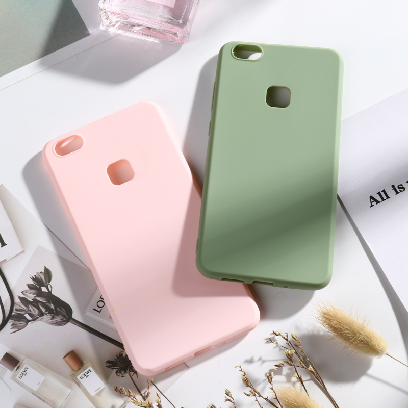 Phone Case for Huawei P10 Lite Cases Candy Soft Silicone TPU Covers For 5.2 inch Bumper Cover Capa