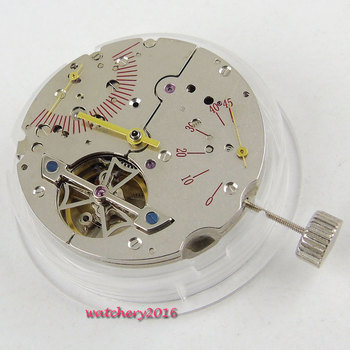 Parnis Power Reserve ST 2505 automatic mechanical date New Classic vintage movement