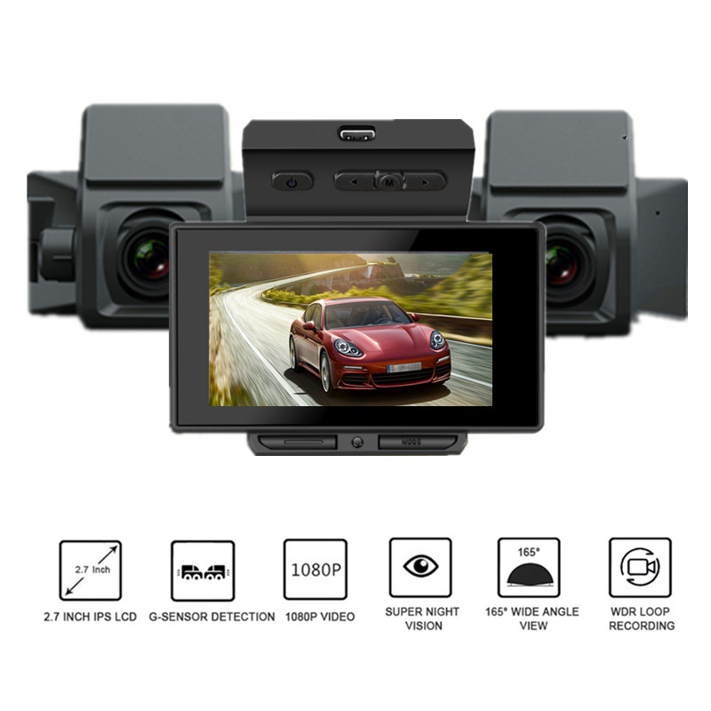 Car DVR Dash Camera Full HD 1080P 2.7Inch Camcorder Video Registrator Parking Recorder G-Sensor Dash Cam 170 Degree Night Vision car dvr dash camera full hd 1080p 2 7inch camcorder video registrator parking recorder g sensor dash cam 170 degree night vision