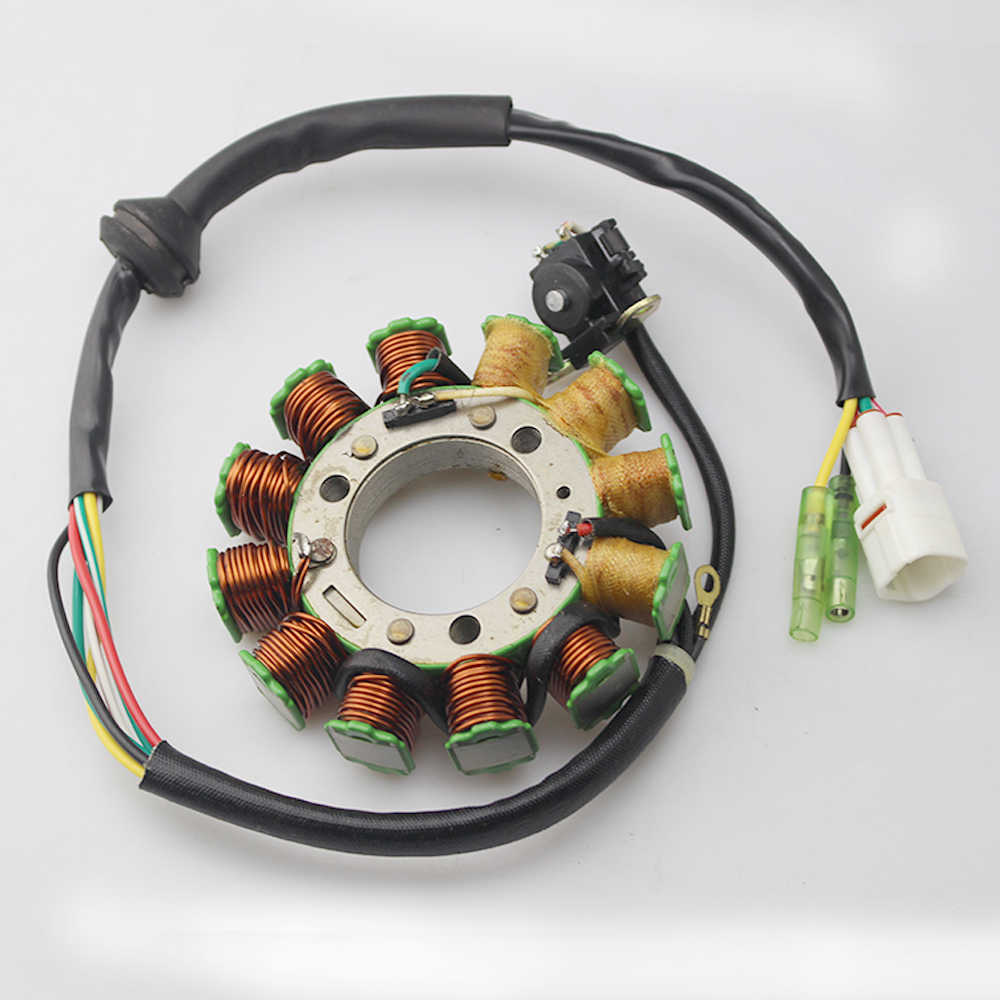 hight resolution of motorcycle magneto stator coil for yamaha banshee 350 yfz350 1995 1996 1997 1998 1999 2000 2001