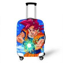 18-32 дюймов Dragon Ball Z DBZ чехол для чемодана для путешествий чемодан протектор для мальчиков и девочек на колесиках прочный защитный чехол
