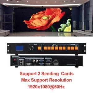 Image 5 - MVP506 lowest price like led display video processor KS600, Indoor p2 p3 p4 p5 led panel led video wall processor HDMI DVI input