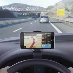 Универсальный автомобильный держатель для телефона, регулируемый держатель для приборной панели, держатель для мобильного смартфона, GPS, п...